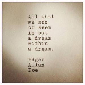 Dream Within a Dream Edgar Allan Poe