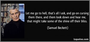 Quotes About Going To Hell