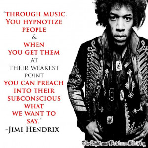 22 #Jimi #Hendrix #Quotes Which Show His Deep Personality