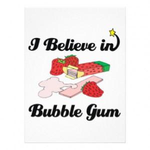 CUTE SAYINGS FOR BUBBLE GUM