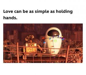 Wall-e quote