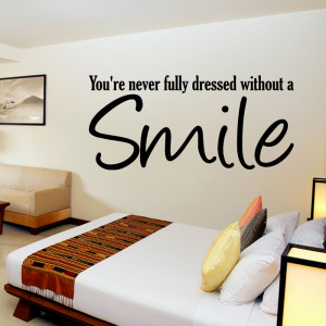 tweet smile wall quote sticker wall stickers from abode wall art