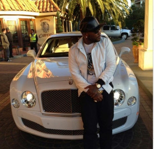 Young Jeezy's Bentley Mulsanne and Ferrari California