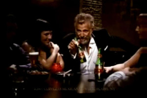 Equis Actor Jonathan Goldsmith, who plays 'the most interesting man ...