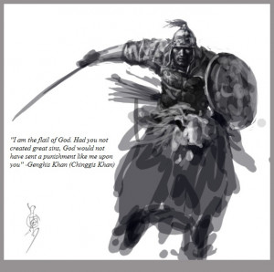 Genghis Khan - The best quotes, sayings & quotations about love ...