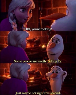 Olaf From Frozen Quotes