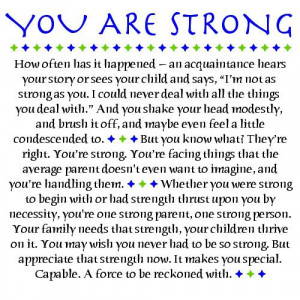 Quotes from a mother | Being a Single Parent: A ChallengeYou Are ...