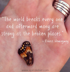 Finding Strength Through Pain