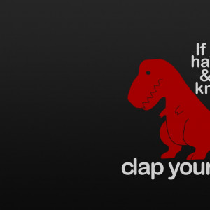dinosaurs funny clap tyrannosaurus rex lol funny quotes 1920x1080 ...