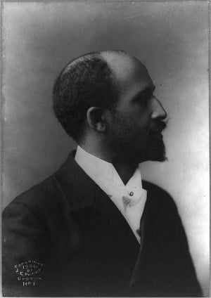 Du Bois. Photo by J.E. Purdy, 1904. Public domain.