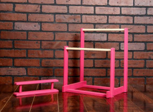 American Girl Doll Gymnastics Uneven Bars and Balance Beam Do It ...