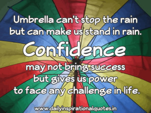 Umbrella Can't Stop the Rain but Can Make Us Stand In Rain ...