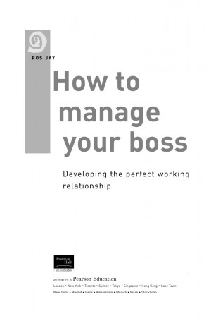 Going Away Quotes For Boss How manage your boss