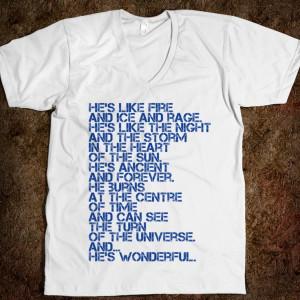 Doctor WHO? - Talk Nerdy to Me - Skreened T-shirts, Organic Shirts ...