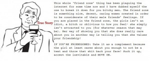 Explaining the friendzone Funny Quote Picture