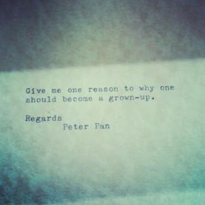 disney quotes peter pan tumblr