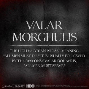 Behold the GAME OF THRONES Season 4 Series Poster and Translation ...