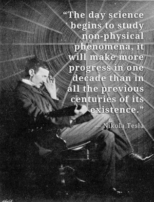 Nikola Tesla Quotes Frequency
