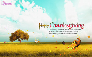 Thanksgiving Quotes with Greeting Cards and Wallpapers