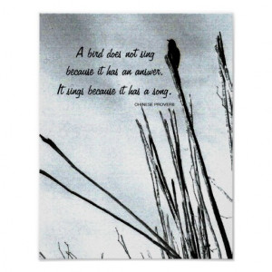 Inspirational Chinese Proverb Print
