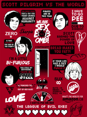All of your favorite Scott Pilgrim vs. The World quotes, characters ...