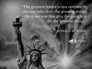 The greatest leader is not necessarily the one who does the greatest ...