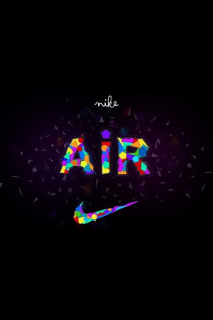 Nike Logo - Colorful Air Swoosh