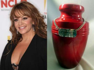Jenni Rivera's remains to be cremated: report