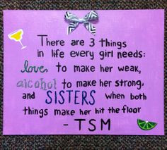 Perfect TSM quote for big/ little reveal More