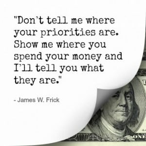 ... when it comes to your finances often times a quote will do the