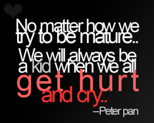 love, nice, peter pan, quote, text