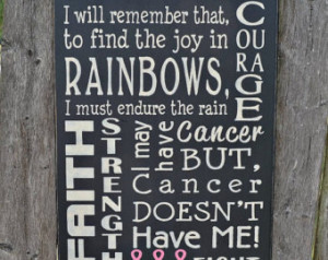 Brain Cancer Quotes Breast cancer awareness