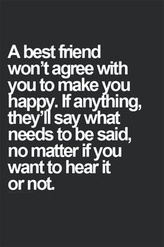 True friendships - I am blessed to have a couple of people in my life ...