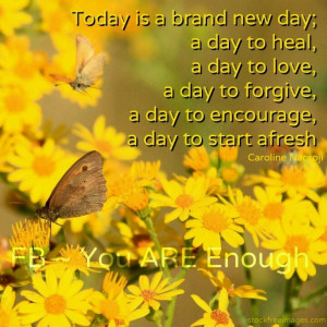 Today's a brand new day
