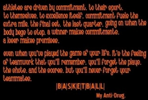 Showing Gallery For Basketball Quotes About Team
