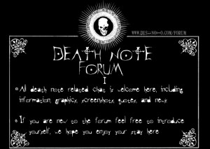 forumrules death note quotes by helpimalive0 d45l5jf 30797 ...
