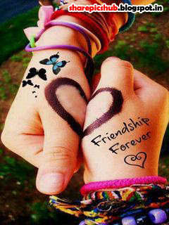 friendship forever cute wallpaper for facebook sweet friendship quote ...