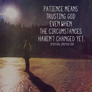 christian dating and patience