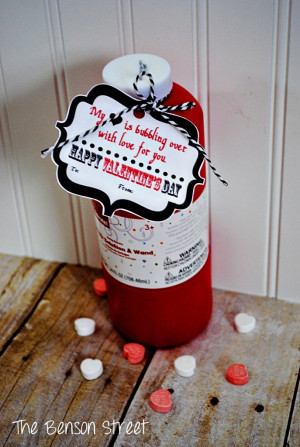 Bubbles Valentine Printable...