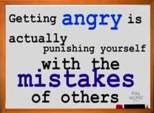 Getting Anger Is Actually Punishing Yourself