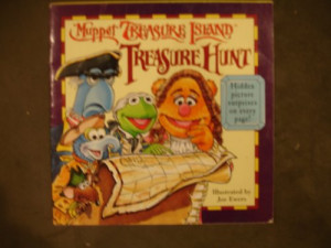 Muppet Treasure Island Book
