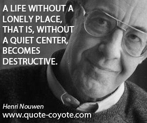 Henri Nouwen Quotes