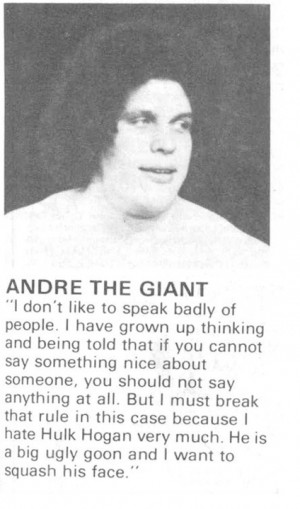 Wisdom of Andre the Giant