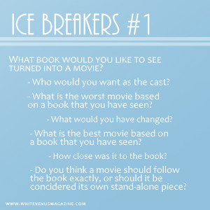 Ice Breakers #1
