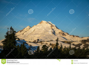 Morning Light Mount Baker