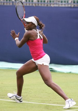 Tennis Player, Sloane Stephens.....Those legs n' booty