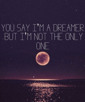 , dream, dreamer, love, midnight, moon, ocean, quote, quotes, sayings ...