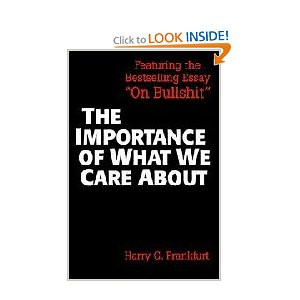 the importance of what we care about philosophical essays and