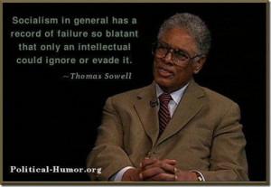 Thomas Sowell on socialism
