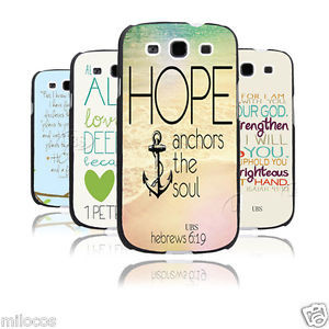 Christian-Bible-Verse-Quote-with-Anchor-Hard-Case-For-Samsung-Galaxy ...